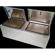 Aluminium Double Top Opening Box